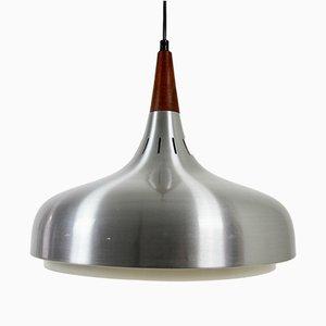 Lámpara colgante danesa vintage, años 60