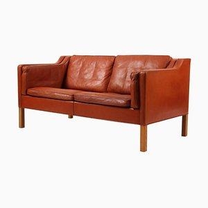 Modell 2212 2-Sitzer Sofa von Børge Mogensen für Fredericia, 1970er