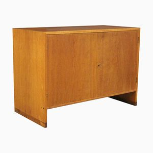 Oak & Teak Cabinet by Hans J. Wegner for Ry Møbler, 1960s