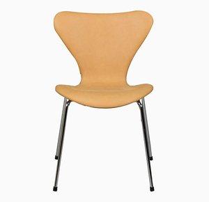 Silla de comedor Syveren 3107 de Arne Jacobsen para Fritz Hansen, años 60