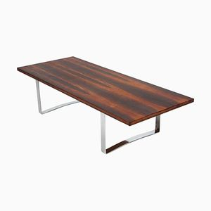 800 Series Rosewood Coffee Table by Hans J. Wegner for Johannes Hansen, 1960s