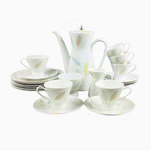 Service à Café Modèle 2000 par R. Latham & R. Loewy pour Rosenthal, 1950s