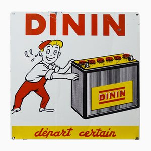 Dinin Advertising Sign, 1950s
