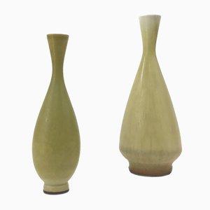 Vasen von Berndt Friberg für Gustavsberg, 1960er, 2er Set
