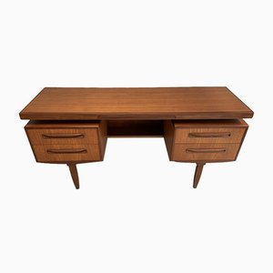 Vintage Teak Fresco Desk by Victor Wilkins for G-Plan, 1960s