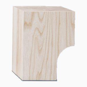 Tabouret Arch 01.1 en Frêne par Sam Goyvaerts pour barh.design