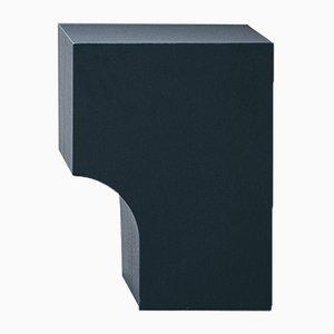 Schwarzer Arch 01.1 Hocker von Sam Goyvaerts für barh.design