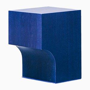 Sgabello Arch 01.1 blu di Sam Goyvaerts per barh.design