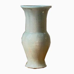 Französische Keramikvase von Agins, 1980er