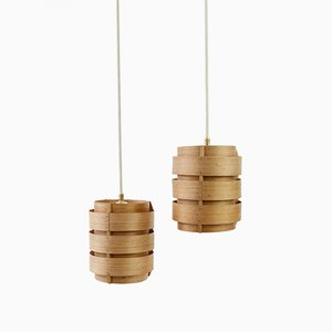Pine Pendants by Hans Agne Jakobsson for Markaryd, 1960s, Set of 2