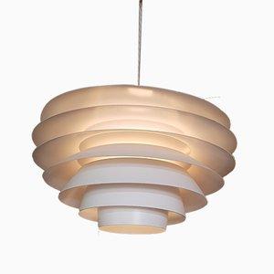 Lámpara de techo Verona de Sven Middelboe para Nordisk Solar, años 60