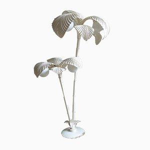Lámpara de pie vintage en forma de palmera