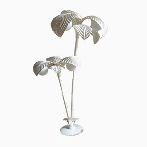 Vintage Palm Floor Lamp