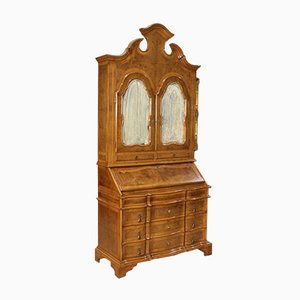 Mueble veneciano de nogal y brezo, años 60