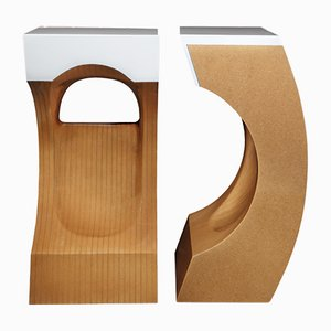 Tables d'Appoint Era par Wael Farran, Set de 2