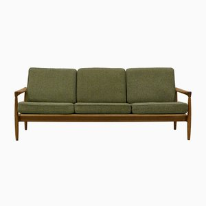 Swedish 3-Seater Oak Sofa by Erik Wørts for Bröderna Andersson, 1960s