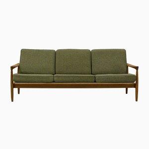 Swedish 3-Seater Oak Sofa by Erik Wørts for Bröderna Andersson, 1960s