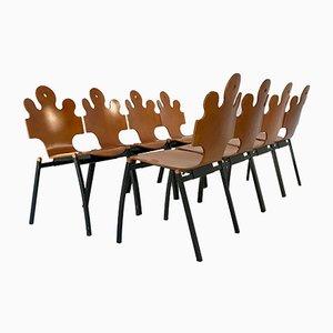 Puzzle Chairs by Tse-Tse, 1990s, Set of 8
