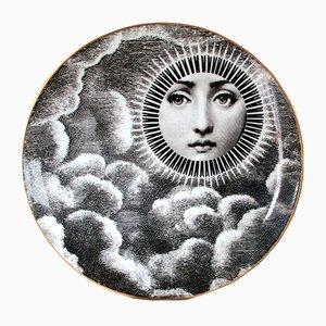 Piatto Lina Cavalieri vintage di Atelier Fornasetti per Rosenthal