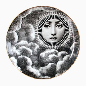 Plato Lina Cavalieri vintage de Atelier Fornasetti para Rosenthal