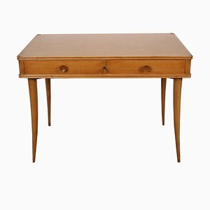 Italian Sycamore Writing Table from Alberto Issel, 1930s