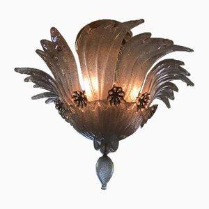 Lámpara de techo de Barovier & Toso, años 40