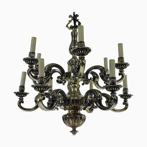 Antique Charles II Style Chandelier, 1830s