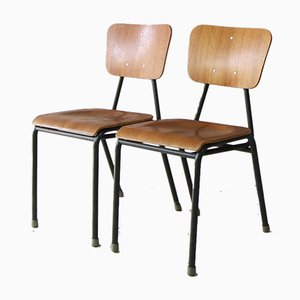 Mid-Century Danish Stackable Chair, 1960s