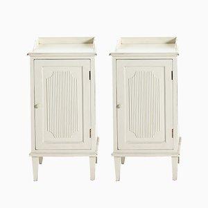 Tables de Chevet Style Gustavien Antiques, Set de 2