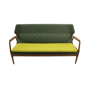 Wingback Sofa by Aksel Bender Madsen for Bovenkamp, 1950s