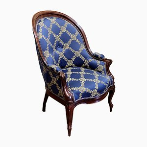Antique French Rosewood Armchair