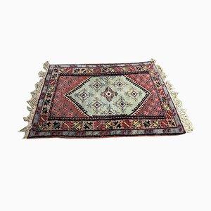 Handmade Moroccan Wool Rug, 1950s