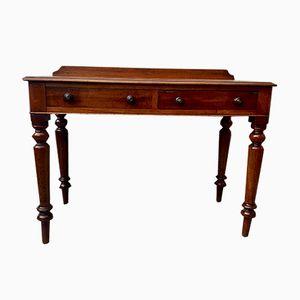 Antiker viktorianischer Schreibtisch aus Holz mit Schubladen