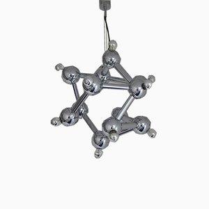 Lámpara de araña Sirius atómica de Kalmar, años 70