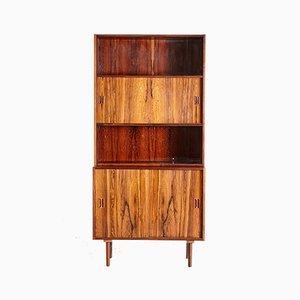 Vintage Danish Rosewood Bookshelf, 1960s