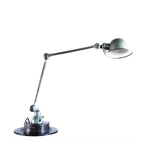 Industrielle Vintage Lampe von Jean-Louis Domecq für Jieldé