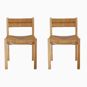 Weekend Stühle von Pierre Gautier Delaye, 1960er, 2er Set