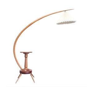 Mid-Century Stehlampe von Severin Hansen Junior