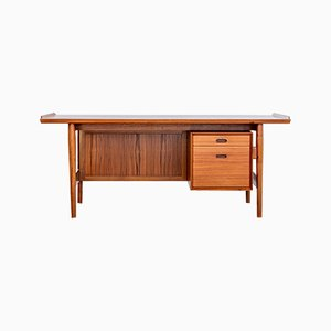 Danish Teak Desk by Arne Vodder for Sibast, 1960s