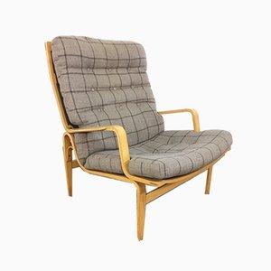 Sillón escandinavo vintage de Bruno Mathsson para Dux, años 60