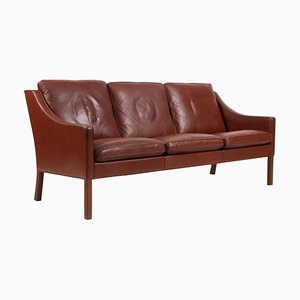 Modell 2209 3-Sitzer Sofa von Børge Mogensen für Fredericia, 1960er