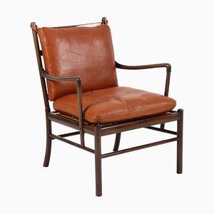 Chaise Coloniale PJ 149 Ole Wanscher pour Poul Jeppesens Møbelfabrik, 1960s