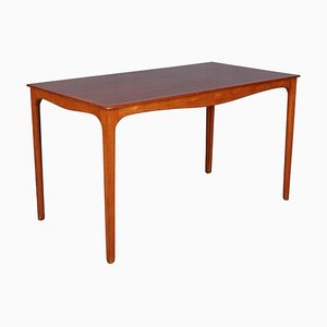 Mahogany Coffee Table by Ole Wanscher for A.J. Iversen, 1960s