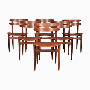 Model 178 Dining Chairs by Johannes Andersen for Bramin, 1960s, Set of 6