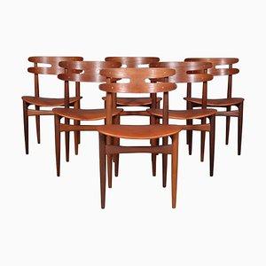 Modell 178 Esszimmerstühle von Johannes Andersen für Bramin, 1960er, 6er Set