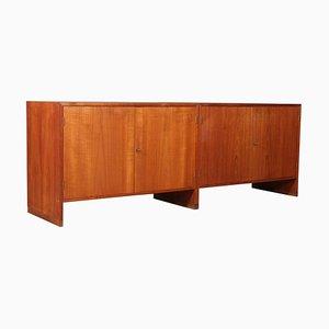 Mueble de teca y roble de Hans J. Wegner para Ry Møbler, años 60