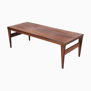 Rosewood Coffee Table by Illum Wikkelsø for Koefoeds Møbelfabrik, 1960s