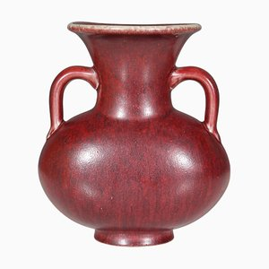 Oxblood Glazed Stoneware Vase by Bode Willumsen for Royal Copenhagen, 1960s