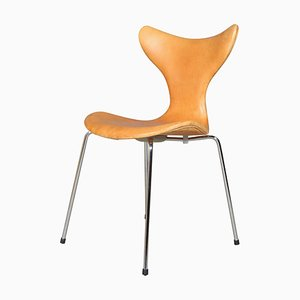 Sedia da pranzo Seagull 3108 di Arne Jacobsen per Fritz Hansen, anni '60