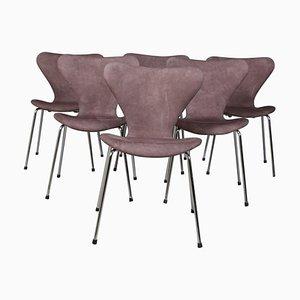 Sedia da pranzo Syveren 3107 di Arne Jacobsen per Fritz Hansen, anni '60